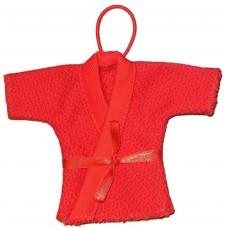 """Сувенирные курточки """"Yunior"""" самбо - красные"""